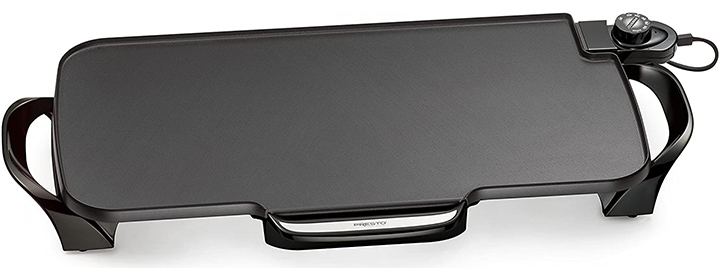 Presto 22-inch Electric Griddle With Removable Handles