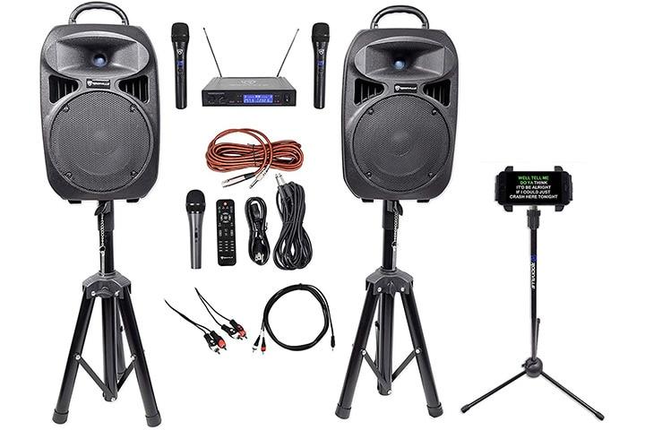Rockville 8-Inch Karaoke Machine