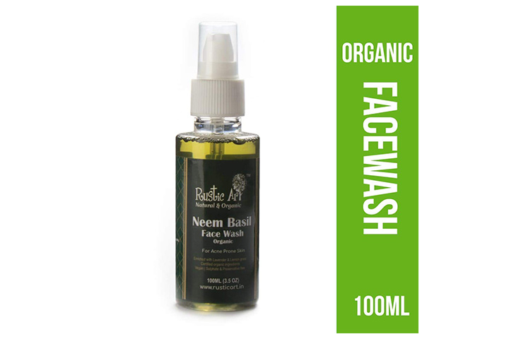 Rustic Art Organic Organic Face Wash
