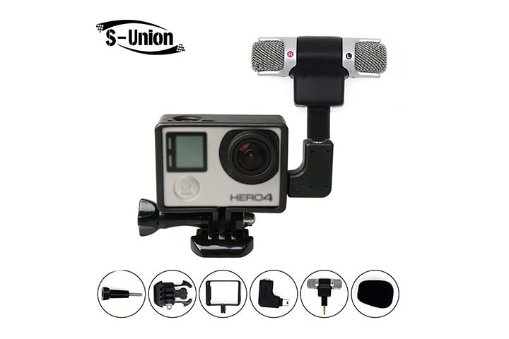 S-Union New Frame Housing Case with External Microphone