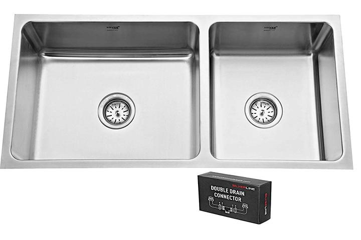 SILVER LINE Low Radius Kitchen Sink