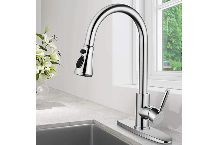 SOKA Chrome Kitchen Faucet