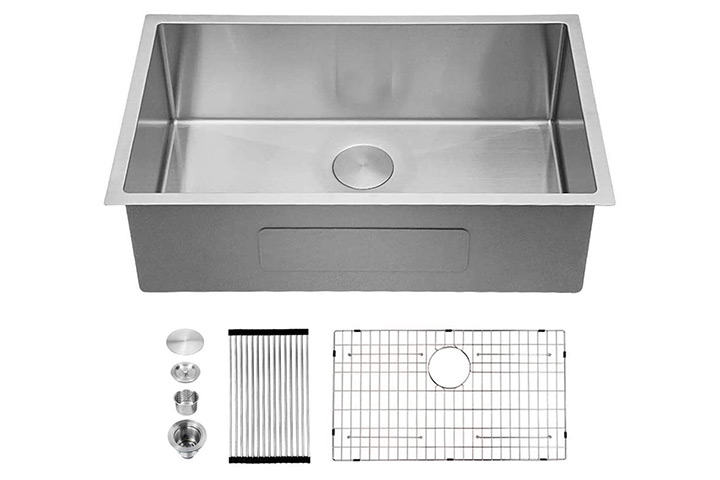 Sarlai Undermount Single Bowl Kitchen Sink