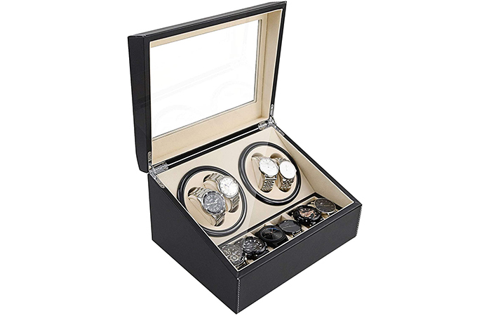 Shzicmy Watch Winder Display Box