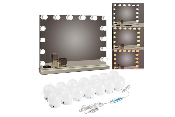 Siccoo Makeup Vanity Lights For Mirror