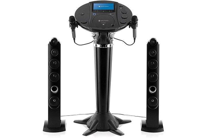 Singing Machine Bluetooth Karaoke Pedestal