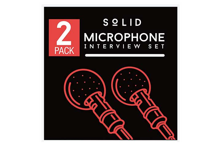 Solid Lavalier Lapel Microphone