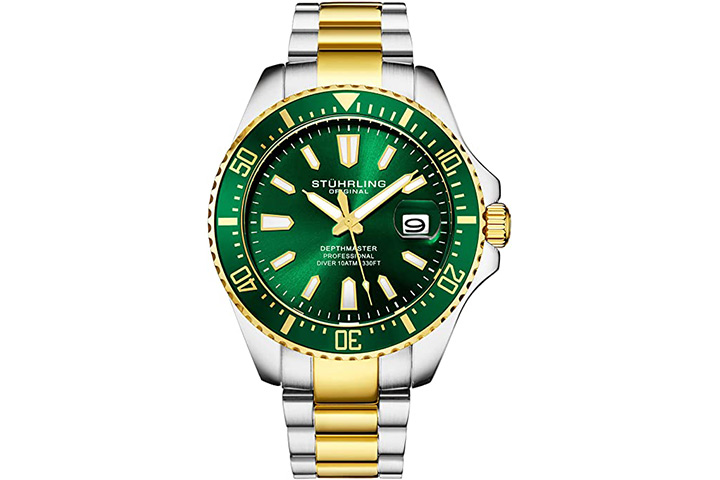 Stuhrling Men Pro Diver Watch