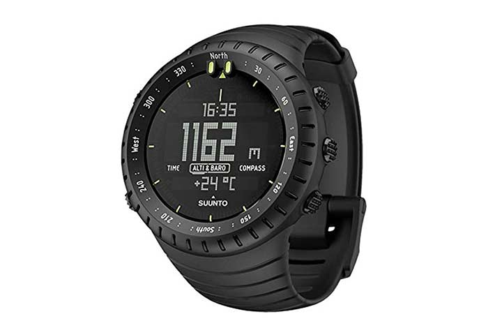 Suunto Core Militarys Men All Black Sports Watch