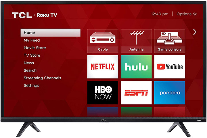 TCL 40s325 40 Inch Smart Led Roku TV