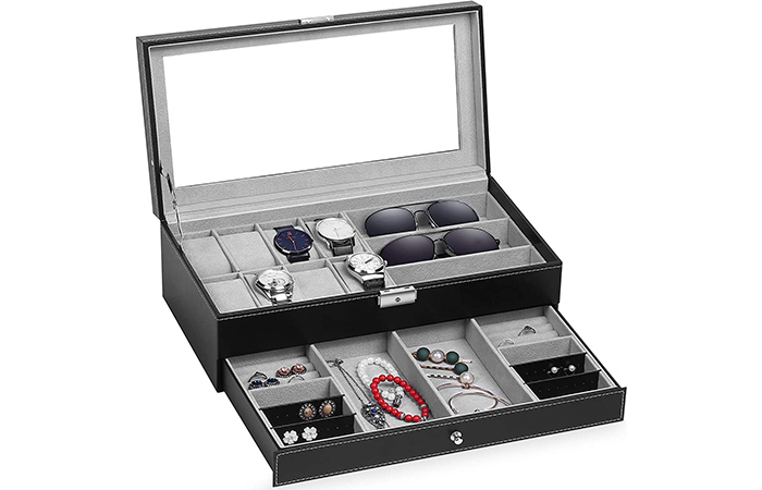 TomCare Watch and Jewellery Organizer