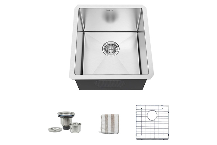 Torva Single Bowl Undermount Kitchen Sink