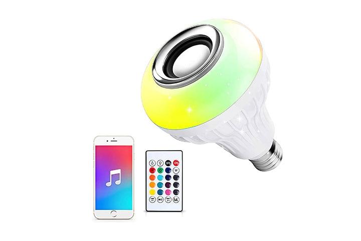 Ustellar LED Wireless Light Bulb Speaker