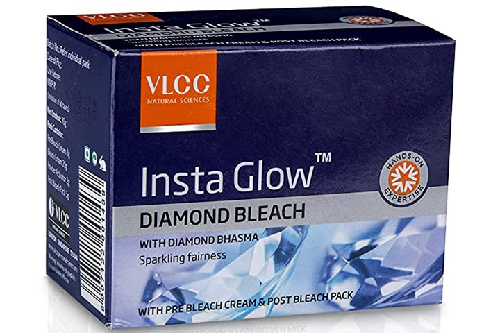 VLCC Insta Glow Diamond Bleach