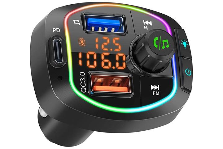 VWMYQ Bluetooth Car FM Transmitter