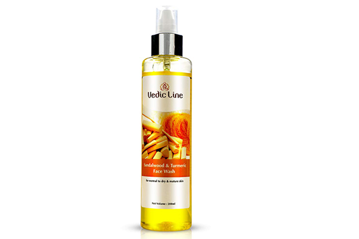 Vedicline Sandalwood And Turmeric Face Wash