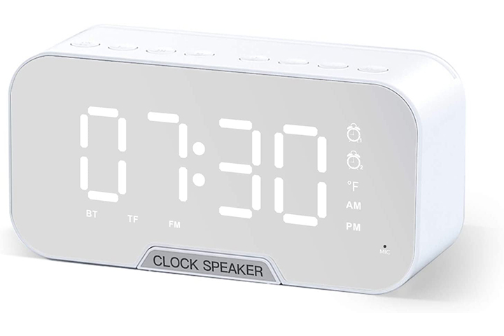 Vijana Bluetooth Speaker With Clock Radio