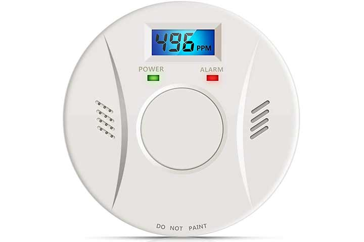 Vitowell Combination Smoke and Carbon Monoxide Detector
