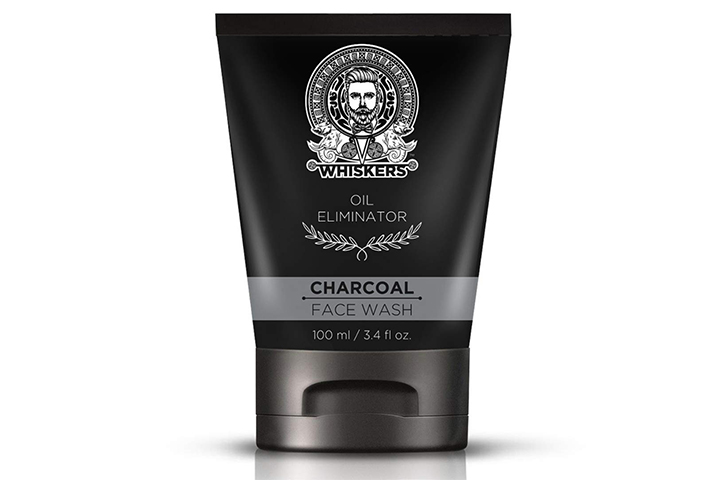 Whiskers Charcoal Face Wash For Men