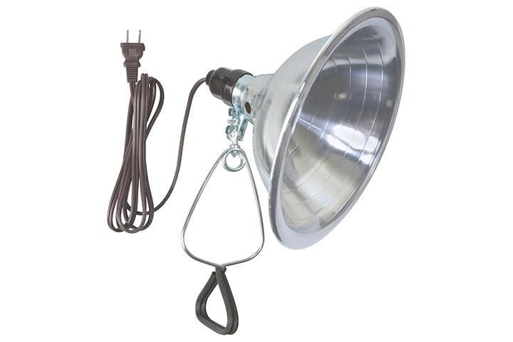Woods Clamp Lamp Light With Aluminum Reflector