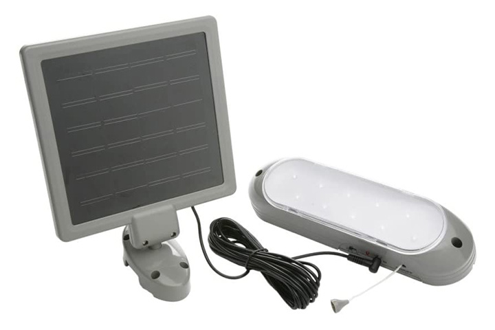 Woods Store Designers Edge L-949 Rechargeable Solar Shed Lights