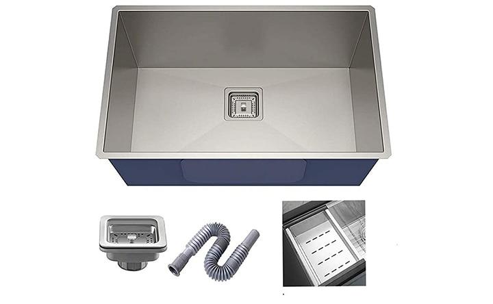 ZESTA Single Bowl Kitchen Sink