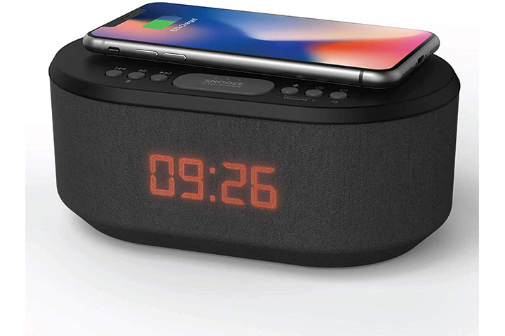 i-box Radio Alarm Clock With Bluetooth Speaker