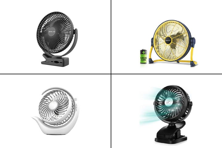 11 Best Portable Rechargeable Fans in 2021