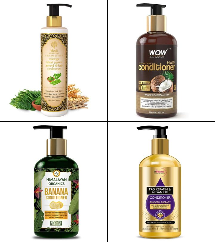 13 Best Conditioners For Dry Hair In India 2021