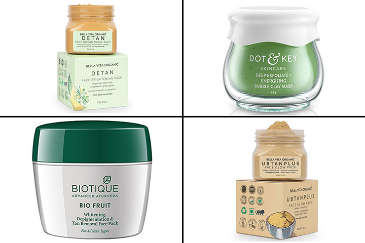 13 Best Face Packs And Masks For Women In India - 2021