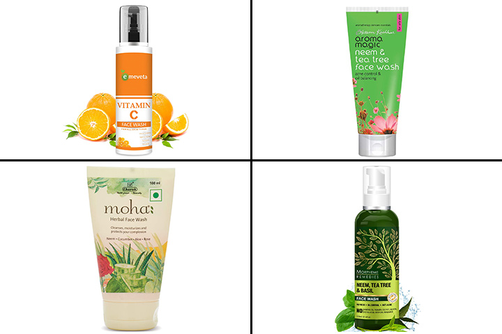 13 Best Herbal face washes in India in 2021