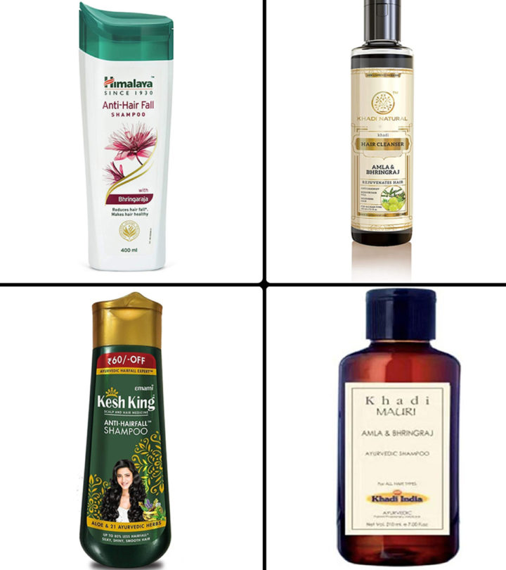 13 Best Herbal Shampoos For Hair Fall In India - 2021