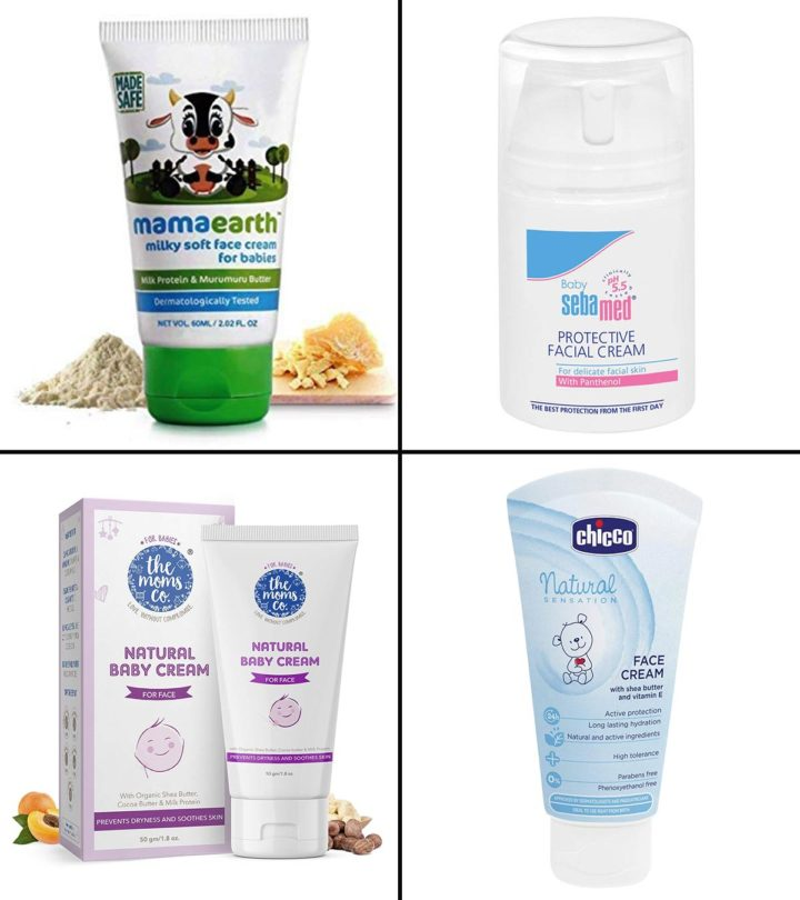 15 Best Baby Creams For Face, In India