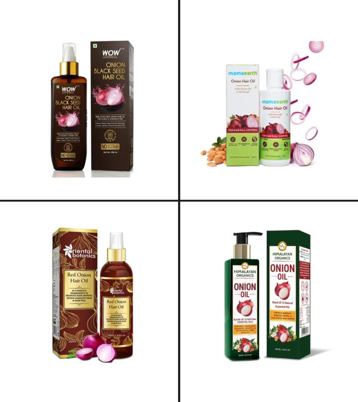 15 Best Onion Hair Oils In India - 2021-1