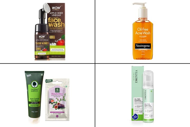 17 Best Face Washes For Acne-Prone Skin In India-1