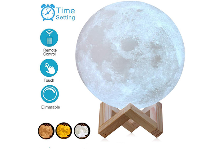 AED Moon Lamp
