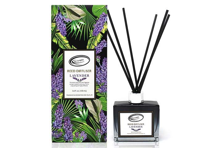 Air Jungles Lavender Scent Reed Diffuser Set