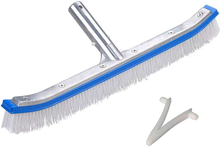 "AnSun Professional 18"" Pool Brush"