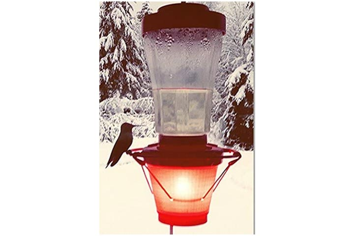 Backyard Bird Centre Hummer Hearth Hummingbird Feeder Heater