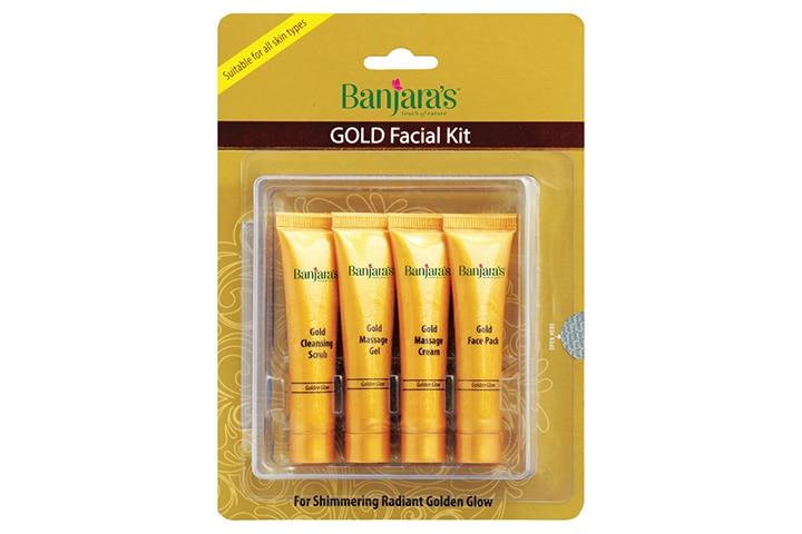 Banjara's Gold Facial Kit