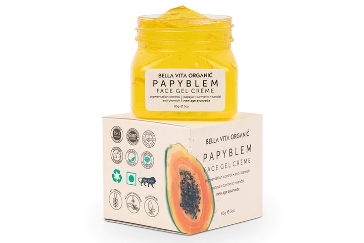 Bella Vita Organic Papyblem Face Gel Creme