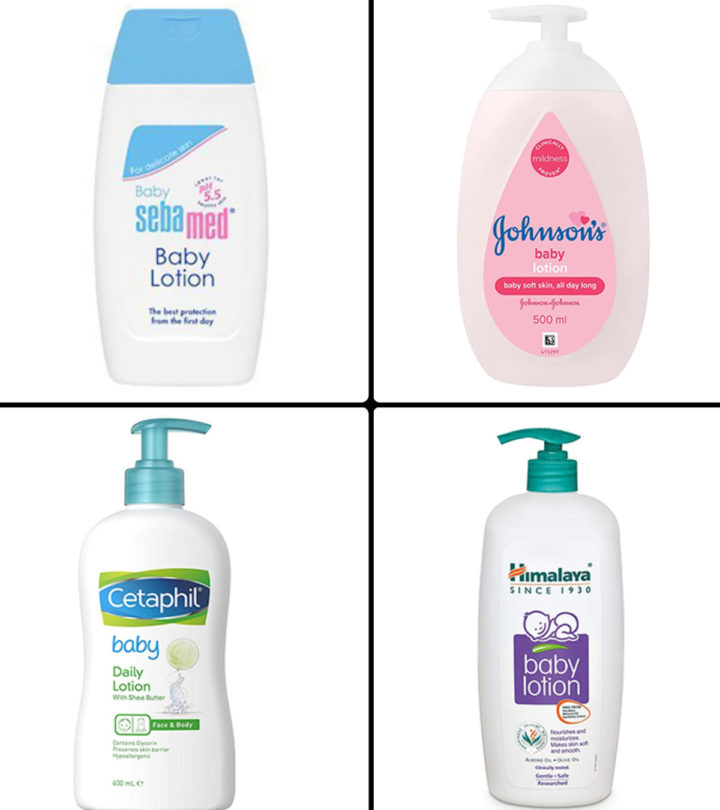 Best Baby Lotions In India In