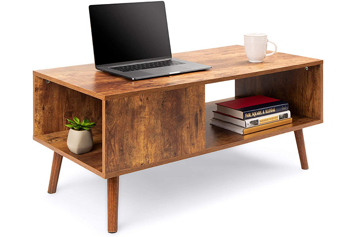Best Choice Products Wooden Coffee Table