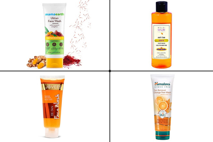 Best Face Washes For Tanned Skin In India