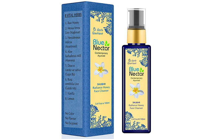 Blue Nectar Contemporary Ayurveda Shubhar Face Cleanser