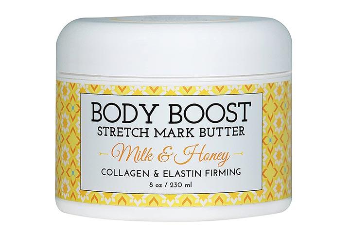 Body Boost Stretch Mark Butter - Milk & Honey