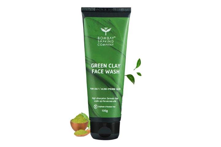 Bombay Shaving Company Green Clay Face Wash