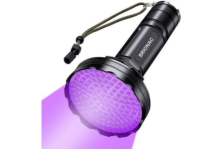 Brionac UV Black Light Flashlight