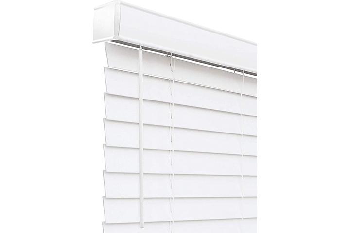 CHICOLOGY Cordless Faux Wood Blinds