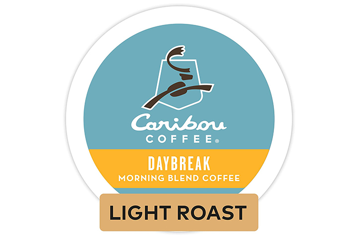 Caribou Coffee Daybreak Morning Blend Single Serve K-cup Pods